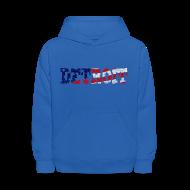 Sweatshirts ~ Kids' Hoodie ~ A Detroit Flag