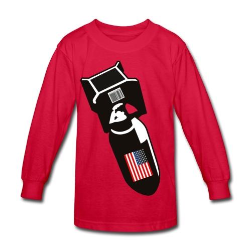 U.S. Bombs - Kids' Long Sleeve T-Shirt