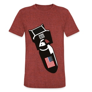 U.S. Bombs - Unisex Tri-Blend T-Shirt by American Apparel