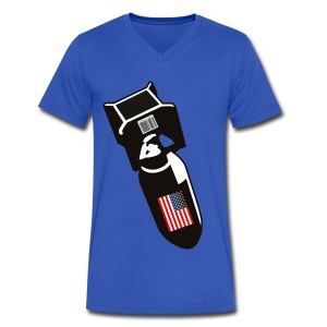 U.S. Bombs - Men's V-Neck T-Shirt by Canvas