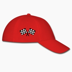 flags - car race Caps