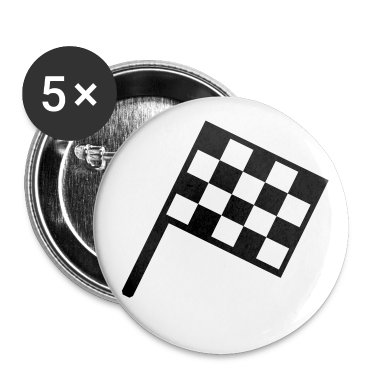 flag - car race Buttons