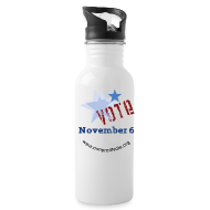 Mugs & Drinkware ~ Water Bottle ~ Vote November 6 Water Bottle