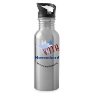 Sportswear ~ Water Bottle ~ Vote November 6 Water Bottle