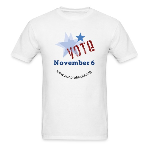 Vote November 6 T-shirt - Men's T-Shirt