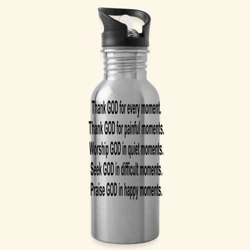 Thank God Moments - Water Bottle
