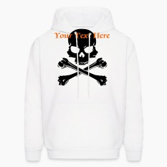 skull with bones Hoodies