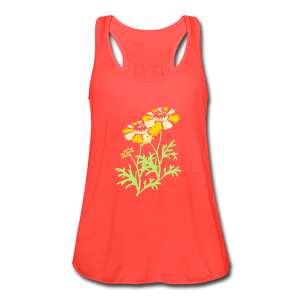 spring mix - Women's Flowy Tank Top by Bella