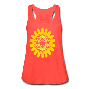 awesome blossom - Women's Flowy Tank Top by Bella