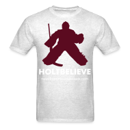 T-Shirts ~ Men's T-Shirt ~ Holtbelieve - Light Oxford