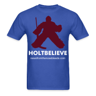 T-Shirts ~ Men's T-Shirt ~ Holtbelieve - Royal Blue