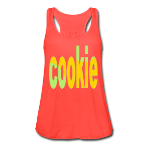 cookie - Women's Flowy Tank Top by Bella
