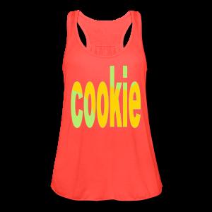 cookie - Women's Flowy Tank Top by Bella