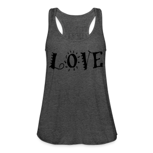 Love - Women's Flowy Tank Top by Bella