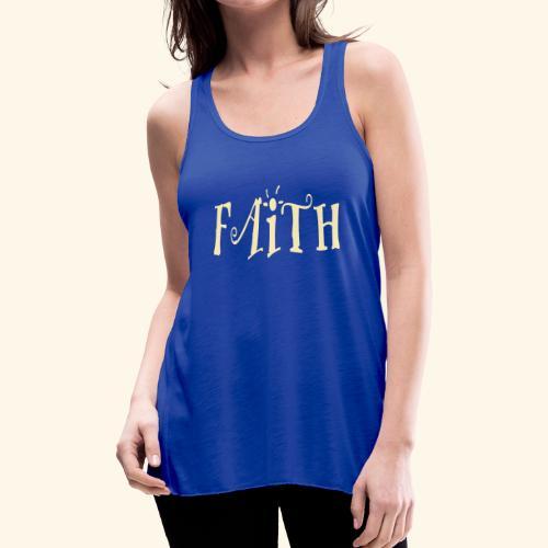 Faith.. - Women's Flowy Tank Top by Bella