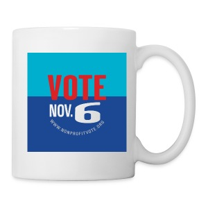Vote November 6 Mug - Coffee/Tea Mug