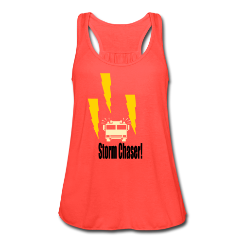 Storm Chaser - Women's Flowy Tank Top by Bella