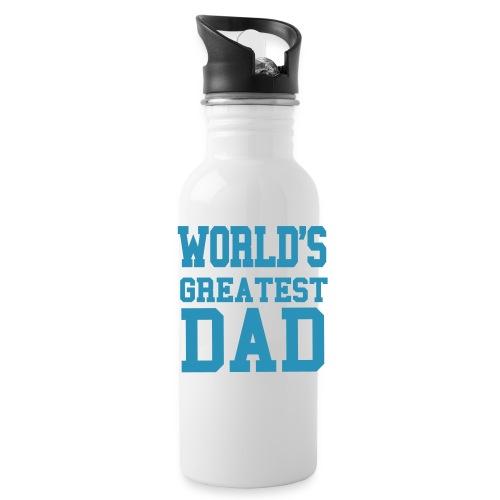 World's Greatest Dad Water Bottle - Water Bottle
