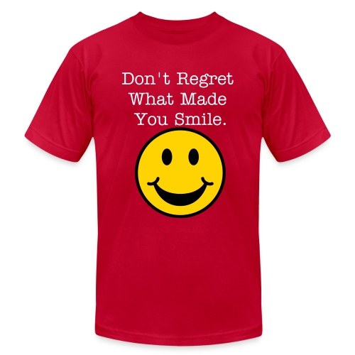 Regret Smile - Men's Fine Jersey T-Shirt