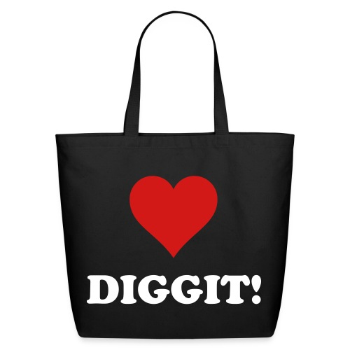 Love DIGGIT Tote! - Eco-Friendly Cotton Tote