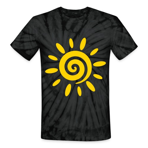 Sun Tie Dye tee-shirt - Unisex Tie Dye T-Shirt