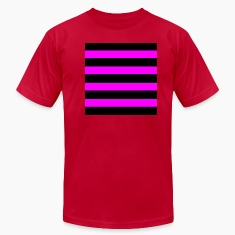 Emo Pink Black Stripes