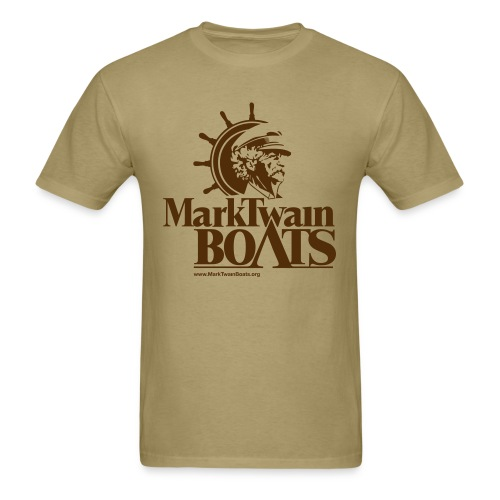 MTB Vintage - Khaki/Brown - Men's T-Shirt