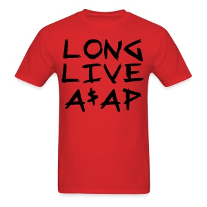 Long Live A$AP (Black / T-Shirt) - Men's T-Shirt
