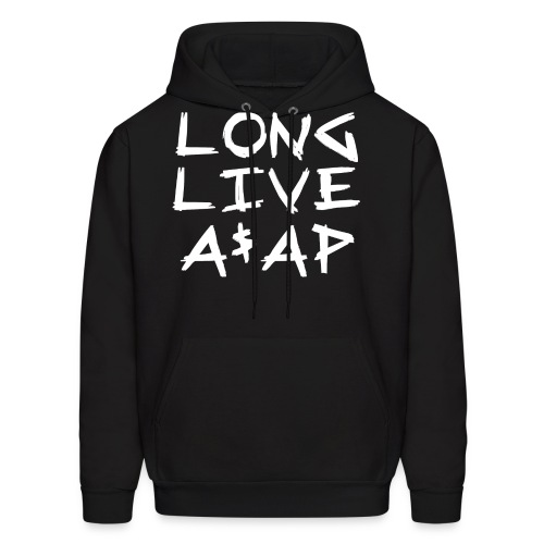 Long Live A$AP (White / Hoodie) - Men's Hoodie