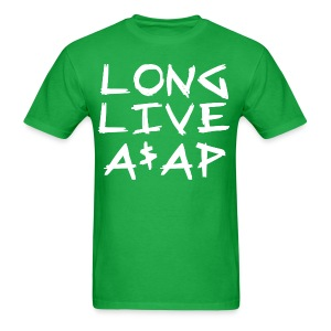 Long Live A$AP (White / T-Shirt) - Men's T-Shirt