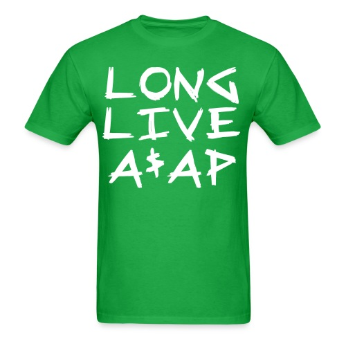 Long Live A$AP (White / T-Shirt) - Men's T-Shirt