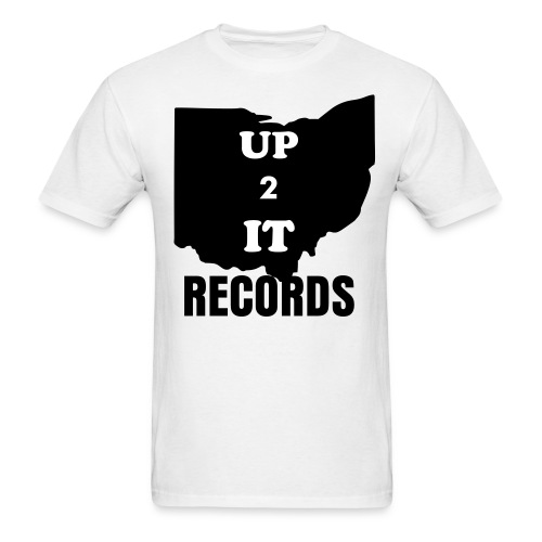 up 2 it records - Men's T-Shirt