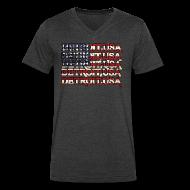 T-Shirts ~ Men's V-Neck T-Shirt by Canvas ~ Detroit, USA