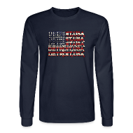 Long Sleeve Shirts ~ Men's Long Sleeve T-Shirt ~ Detroit, USA
