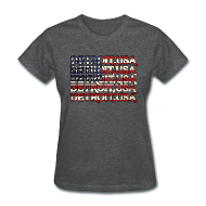 T-Shirts ~ Women's T-Shirt ~ Detroit, USA