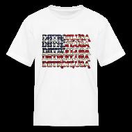 Kids' Shirts ~ Kids' T-Shirt ~ Detroit, USA