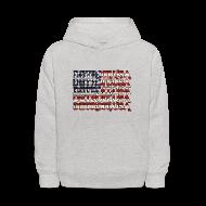 Sweatshirts ~ Kids' Hoodie ~ Detroit, USA