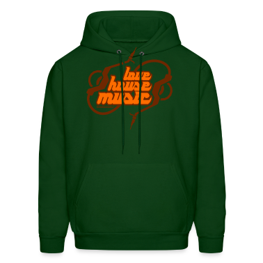 Love House Music DJ Hoodies