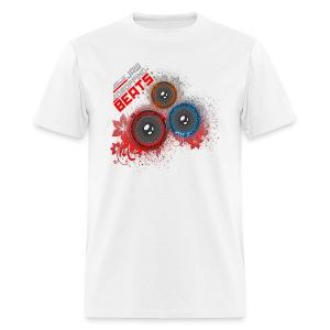 Jaw dropping beats dj t shirts men 39 s t shirt for Jawbone fishing shirts