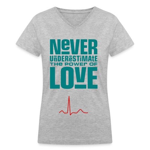 Women's V-Neck T shirt - Women's V-Neck T-Shirt