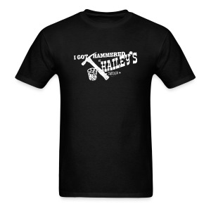 I GOT HAMMERED AT HAILEY'S - Men's T-Shirt