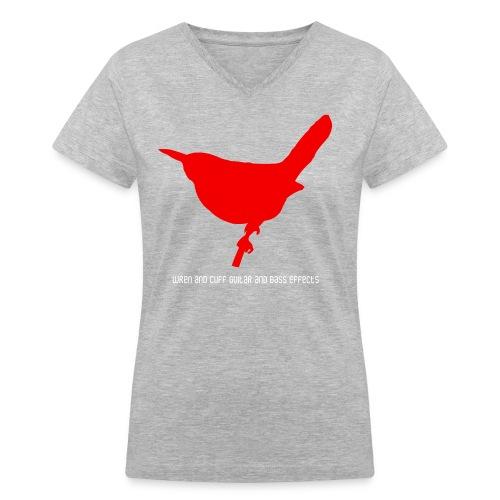 Womens Logo T - Women's V-Neck T-Shirt
