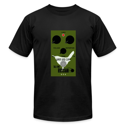 Tall Font Pedal on T Americal apparal  - Men's Fine Jersey T-Shirt