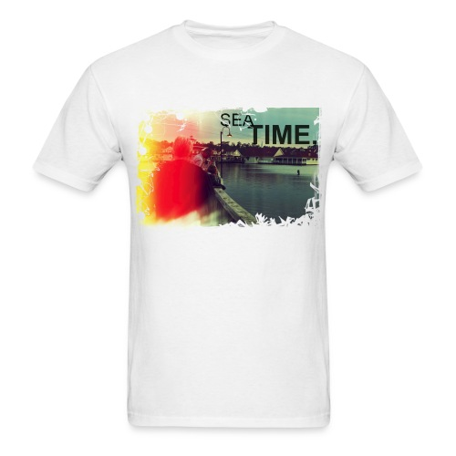 Sea Time Lost Sea - Men's T-Shirt