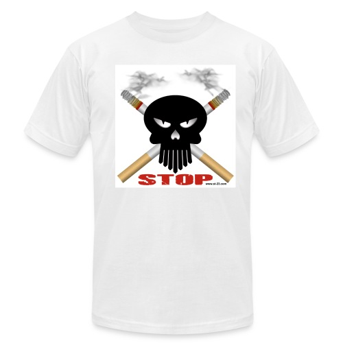 stop smoking - Men's Fine Jersey T-Shirt