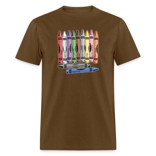 Color Me Nerdy - Men's T-Shirt