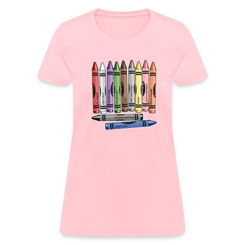 Color Me Nerdy - Women's T-Shirt
