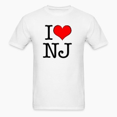 Men's I love New Jersey