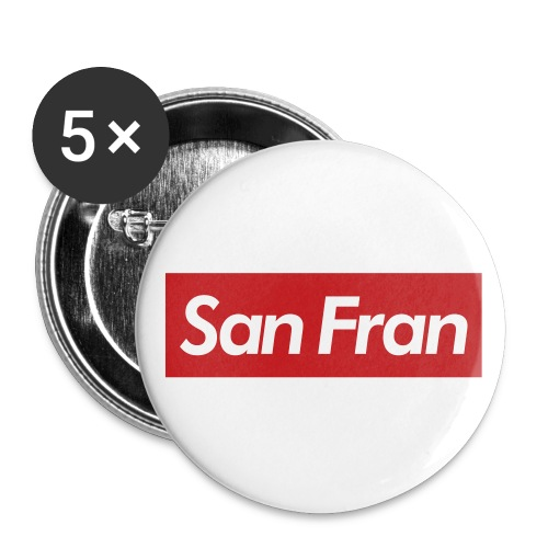 T$$C San Fran Button - Small Buttons
