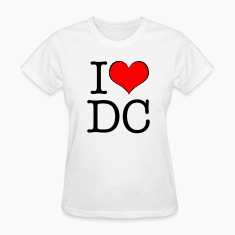 Women's I love DC